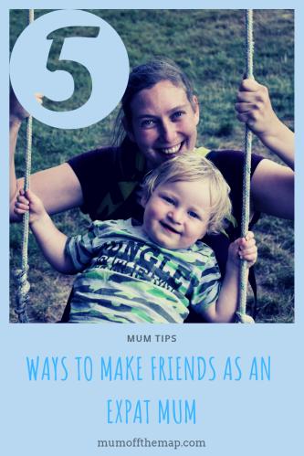 5 ways to make friends as an expat mum