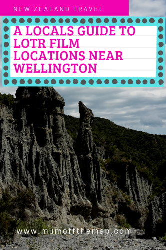 The pinnacles rock formation. caption New Zealand Travel, A locals guide to LOTR film locations near Wellington