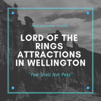 Lord Of The Rings Attractions Around Wellington