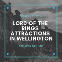 Lord of the rings attractions in wellington