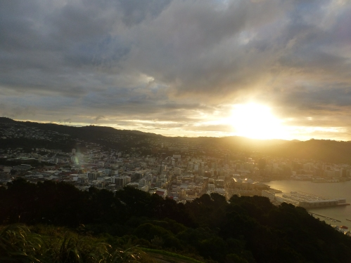 Mount Victoria, Wellington. LOTR film locations