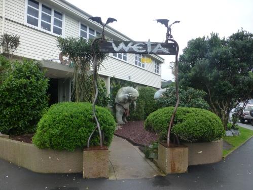 WETA Workshop LOTR locations around Wellington