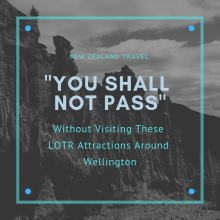 LOTR Attractions around Wellington