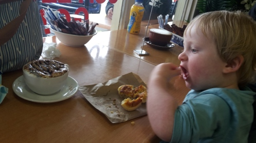 eating out is easy with baby led weaning