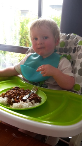 Baby Led Weaning, chilli is on the menu!