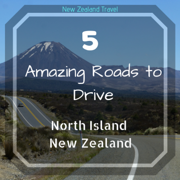 amazing roads to drive in New Zealand, the desert road
