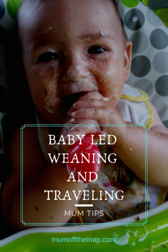 baby led weaning is great for busy mums, traveling families, and when your on the go. 5 reasons why baby led weaning is super easy