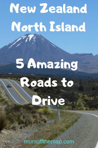 New Zealand North Island 5 Amazing Roads to drive.