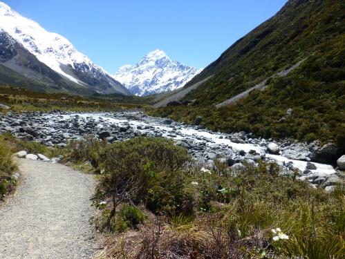Hooker valley track, Mount Cook