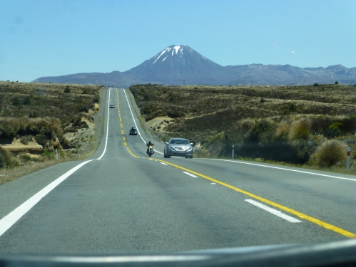 Desert Road, North Island New Zealand