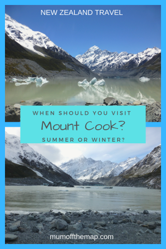 when should you visit mount cook summer or winter
