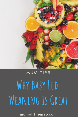 Why Baby Led Weaning Is Great