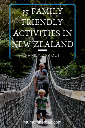 family friendly activities New Zealand