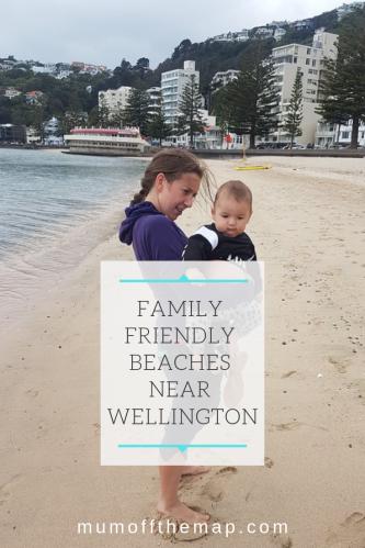 Family friendly beaches Near Wellington