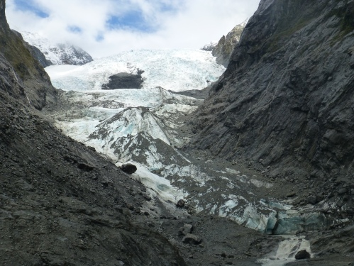 Franz Josef Glacier, Family activity in New Zealand