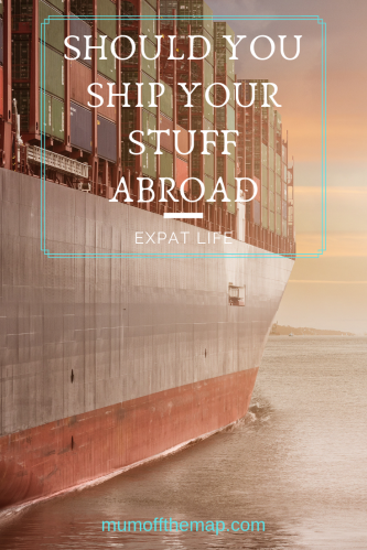 Container ship, Should you ship your stuff abroad