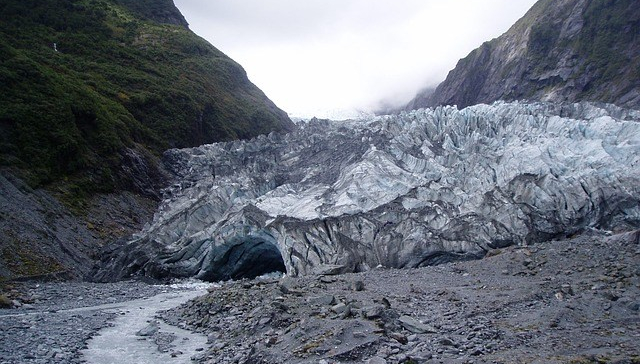 West coast glacier